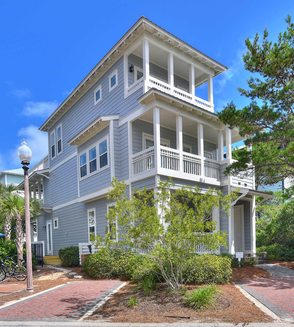 SwatchPop! Beach House renovation exterior