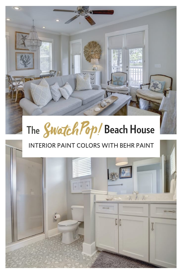 SwatchPop! Beach House renovation
