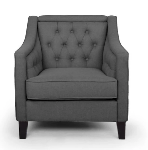 Gray Arm Chair