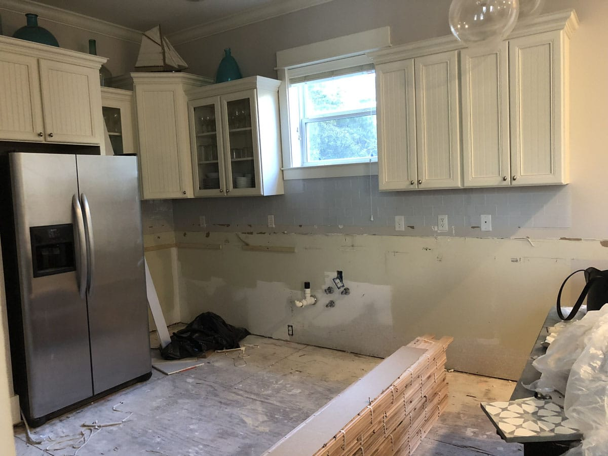 Kitchen Renovation Before