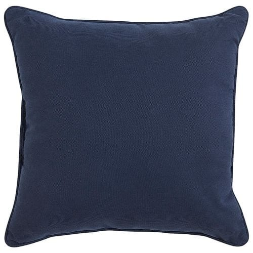 Calliope Collection 17in Indigo Pillow