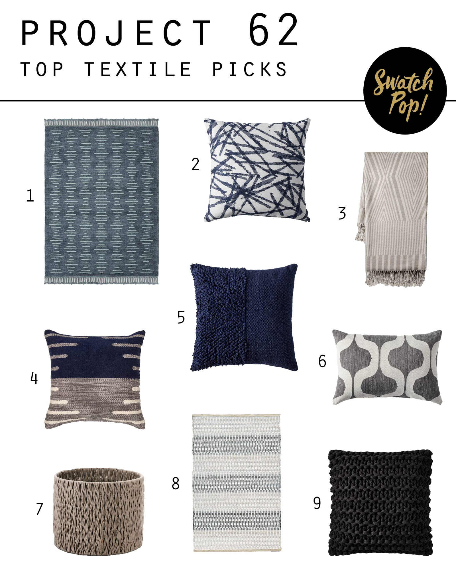 Project 62 Top Textile Picks