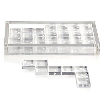 Acrylic domino set