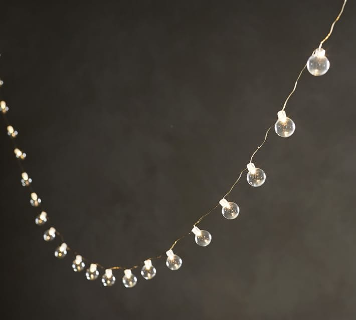 Sphere string lights