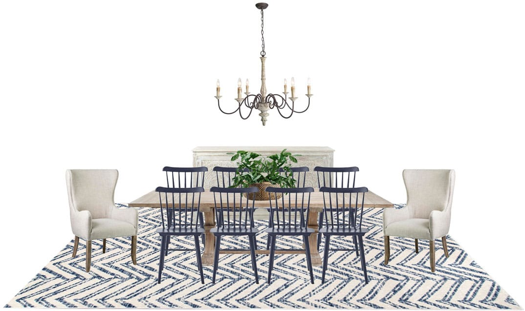 Dining Room Rug Option