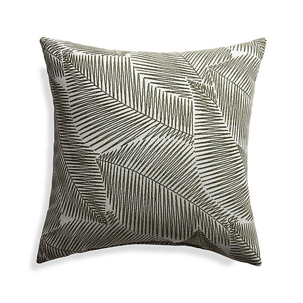 Sunbrella Isle Palm Outdoor Pillow