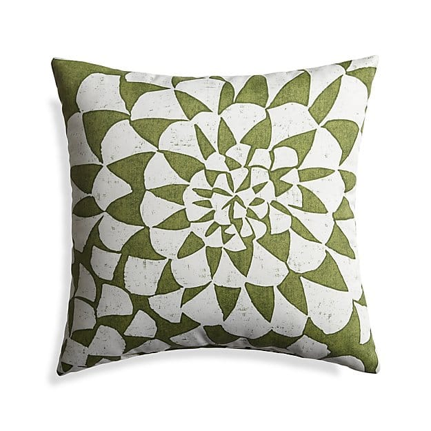 Dahlia Outdoor Pillow