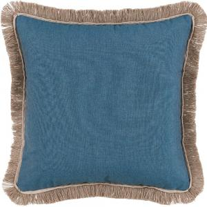 Lagoon with Sand Flange & Outdoor Fringe Outdoor Pillow