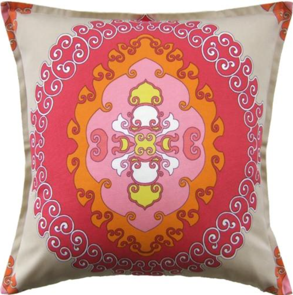 Ryan Studio Super Paradise Pillow in Punch