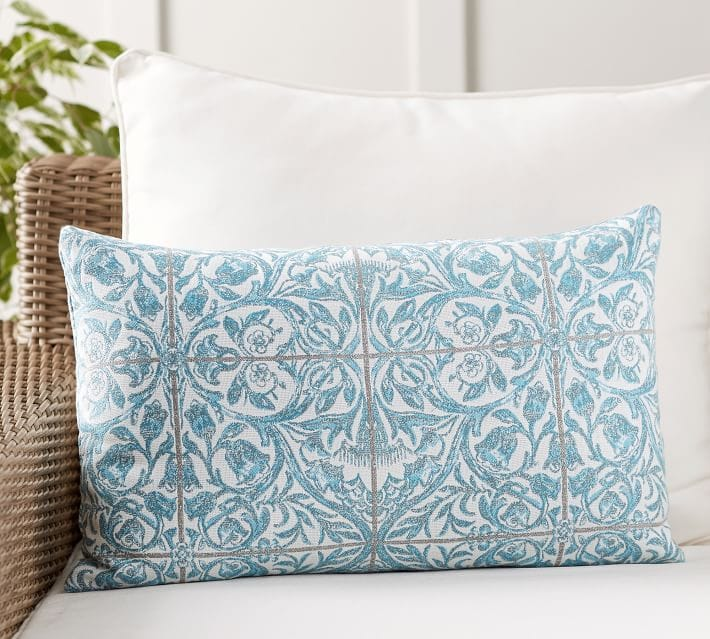 Sunbrella Massi Tile Pillow