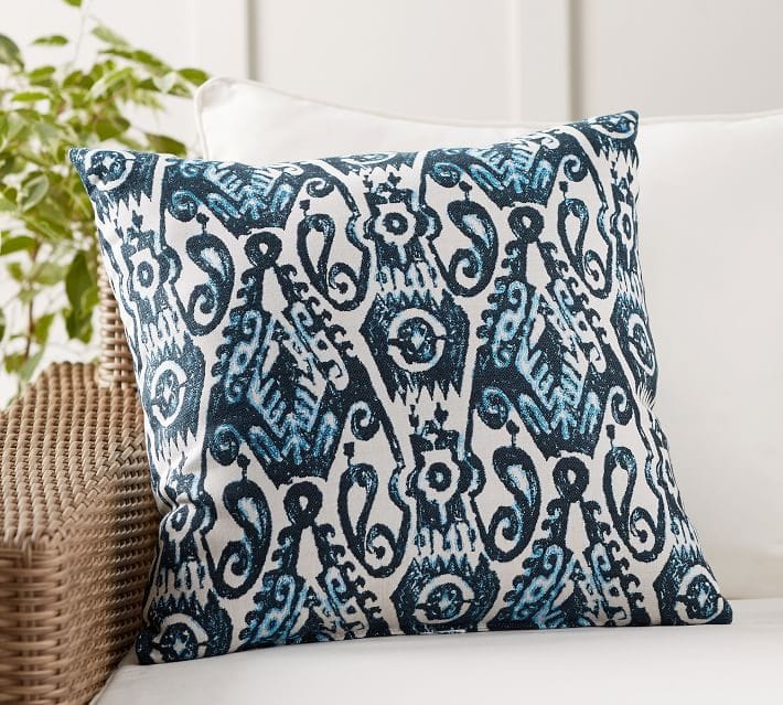 Sunbrella Delphi IKAT Pillow