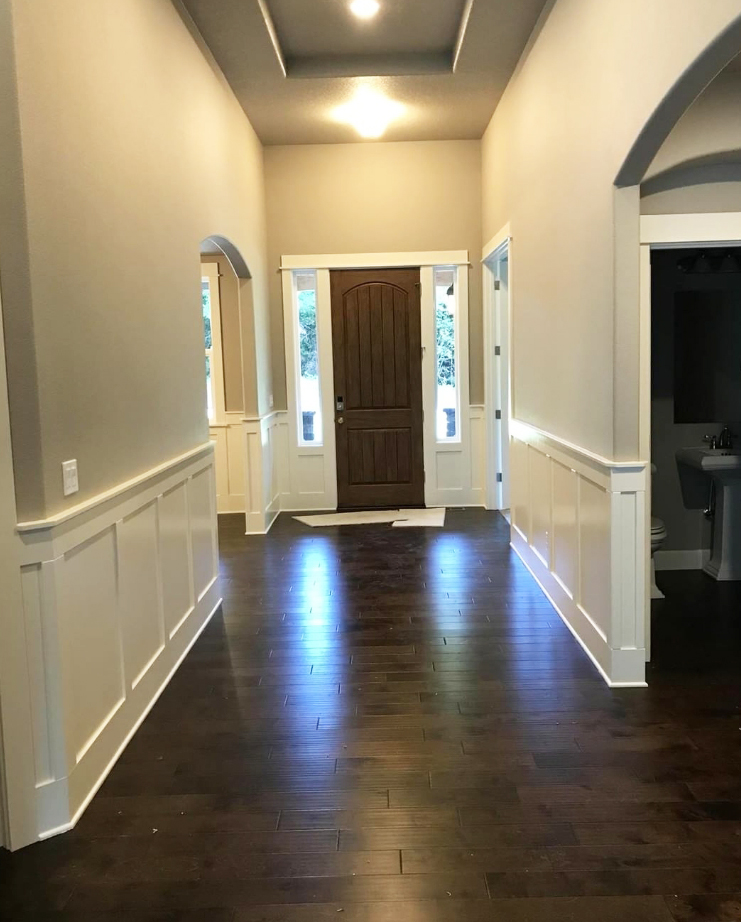 Entry way interior design