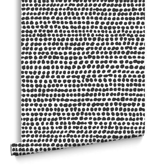 Dots Black & White Wallpaper