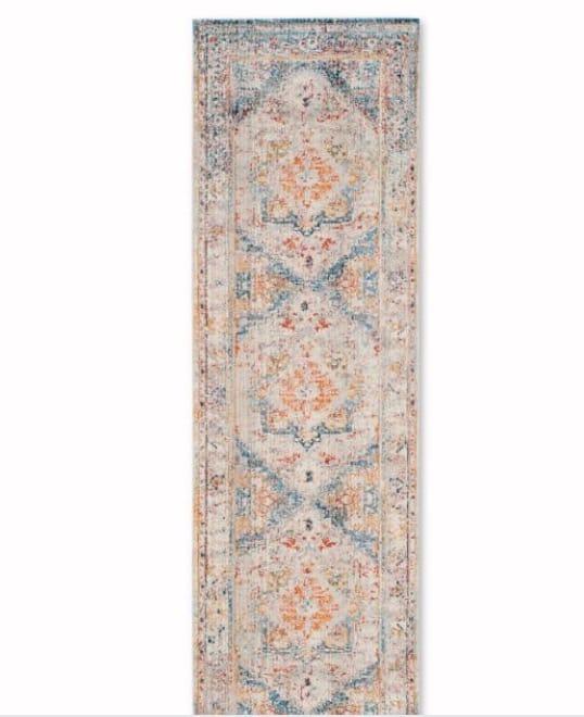 Safavieh Vintage Persian 2-Foot x 7-Foot Runner Rug