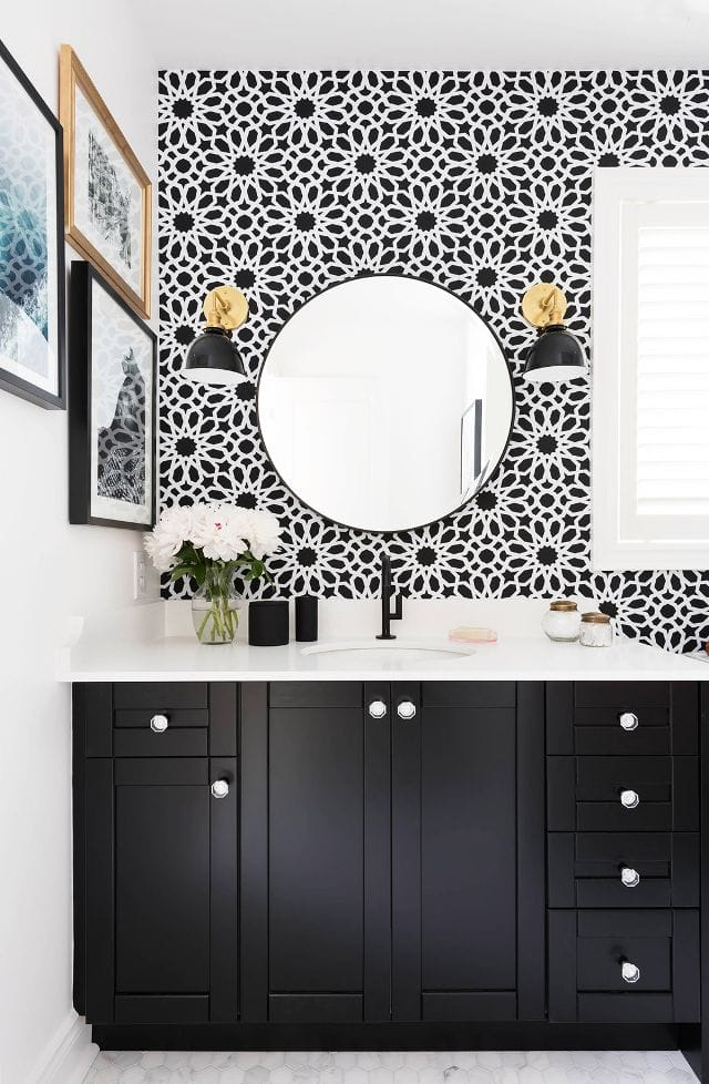 Trends To Try: Bold Powder Rooms