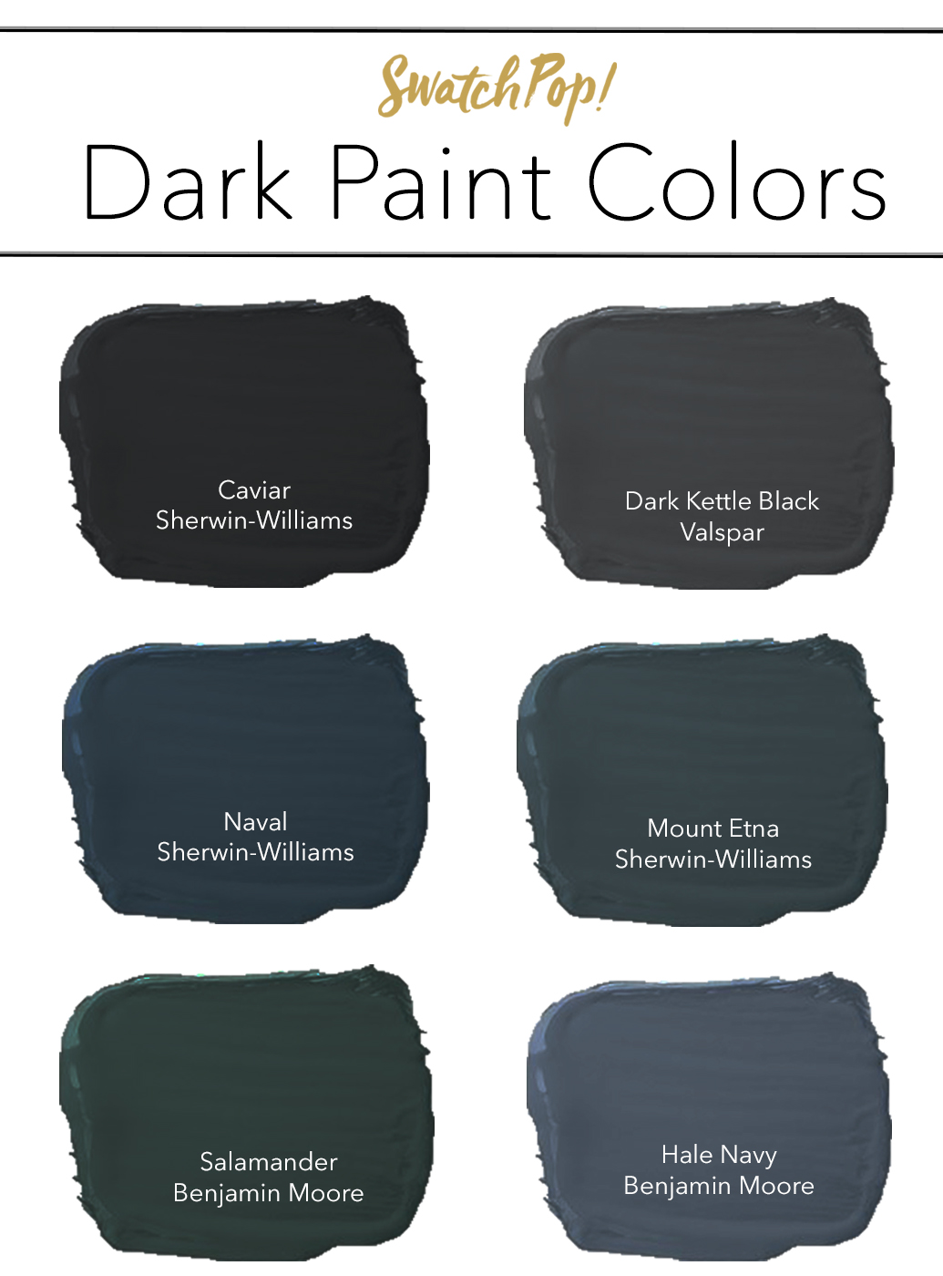 Trends To Try Dark Walls Pop Talk Swatchpop
