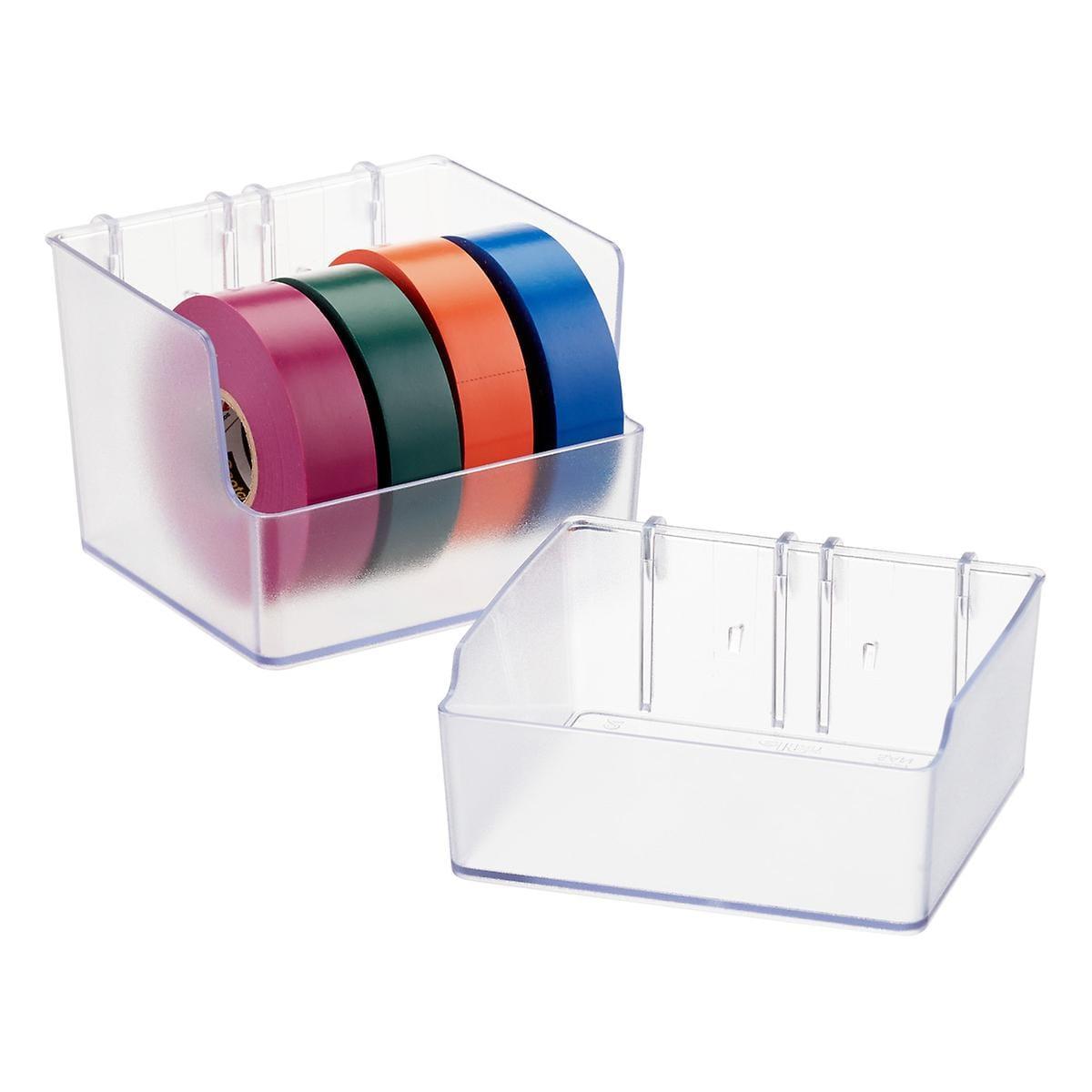 Elfa utility short boardbox translucent