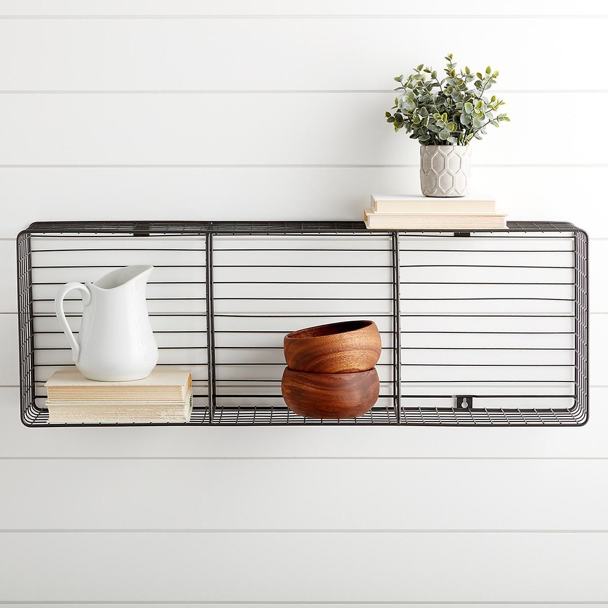 Wall Mount Triple WireStorage Cube – Industrial Gray