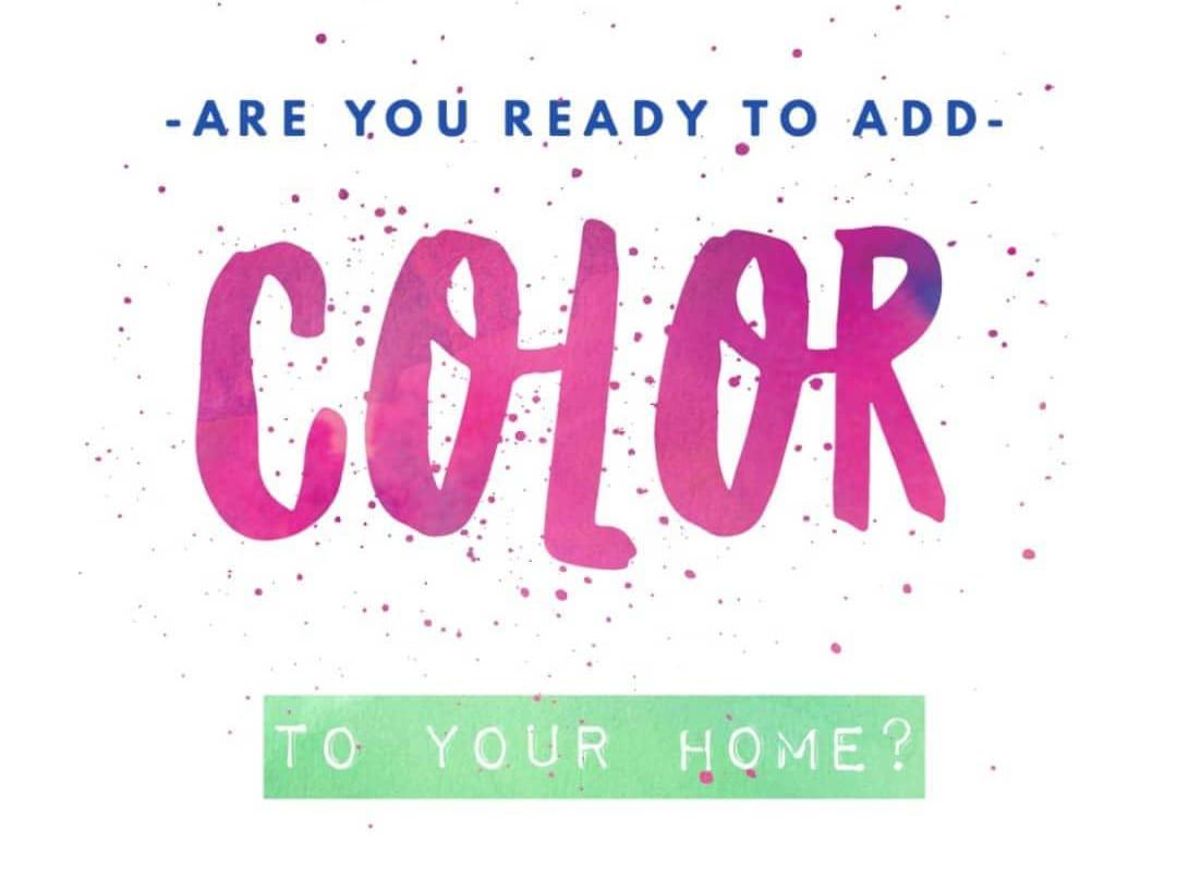 Interior design colors