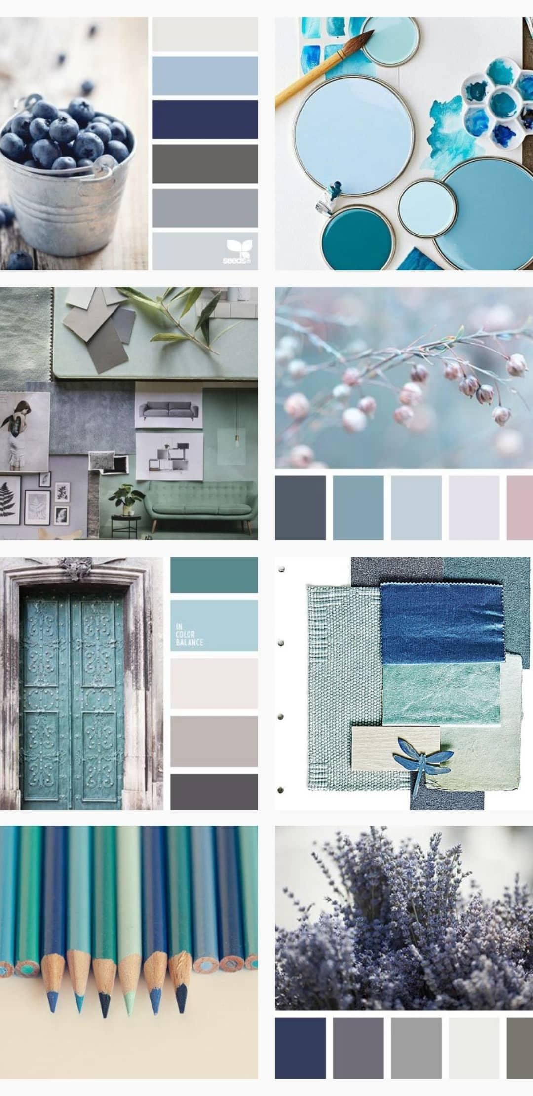 Cool interior design colors
