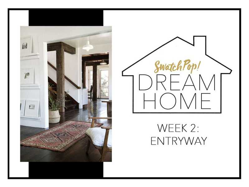 SwatchPop! Dream Home: Entryway