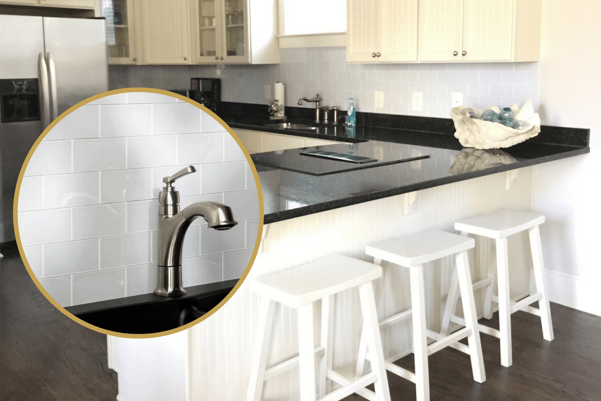 Easy Kitchen Update: Peel & Stick Tile