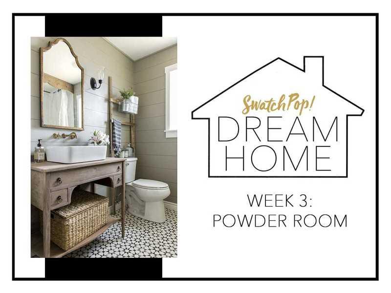 SwatchPop! Dream Home: Powder Room
