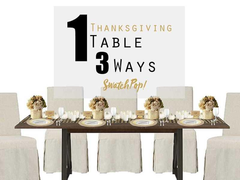 1 Thanksgiving Table 3 Ways