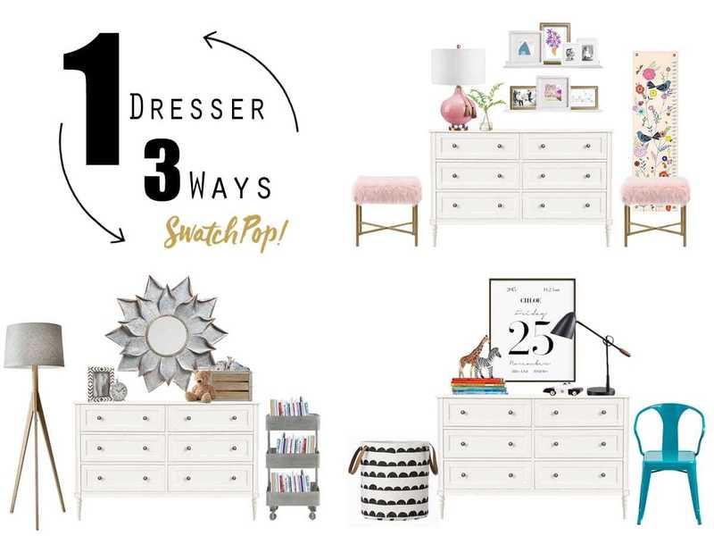 1 Dresser 3 Ways