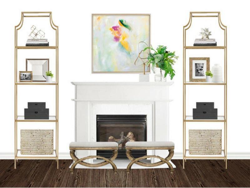 1 Fireplace 3 Spring-Inspired Ways