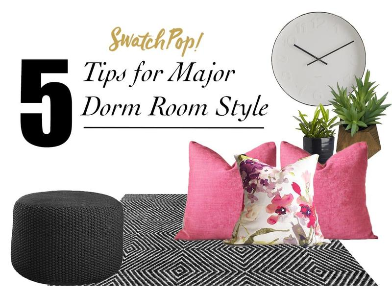 5 Tips for Major Dorm Room Style