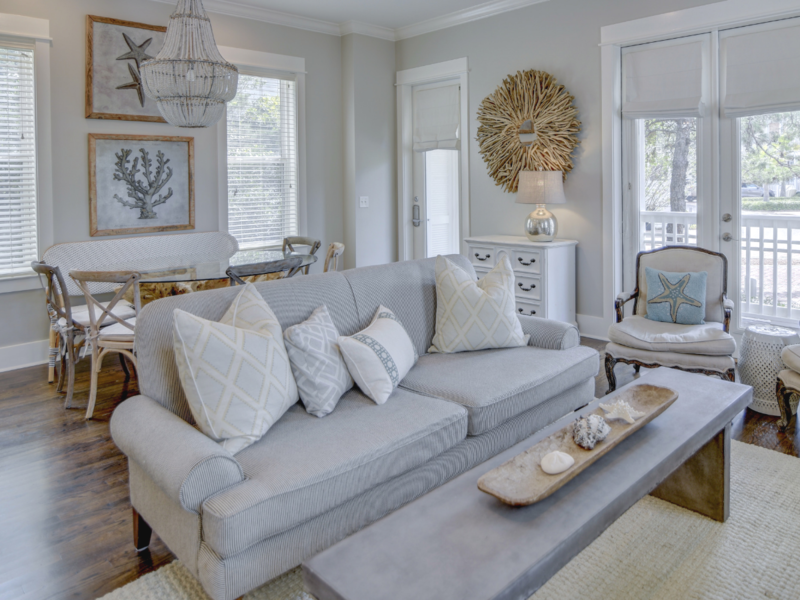SwatchPop! Beach House Renovation: Choosing the Best Neutral Paints with Behr