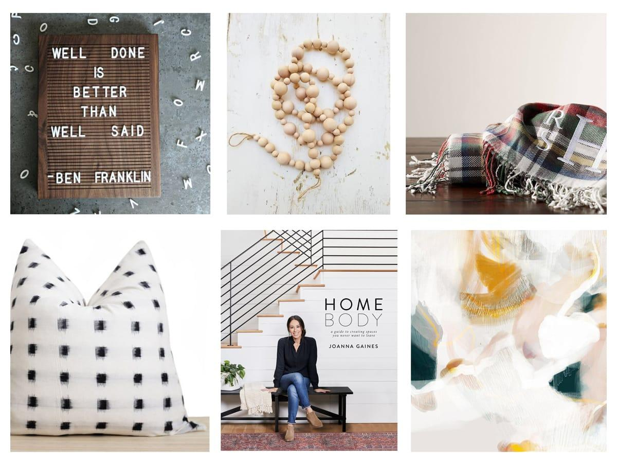 Home Decor Gift Guide Under $50