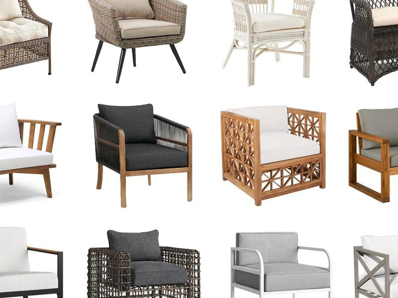 12 Outdoor Chairs that are Comfortable, Beautiful and Budget-Friendly