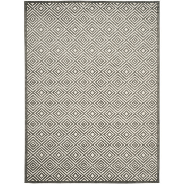 Lexington cream and gray indoor outdoor area rug