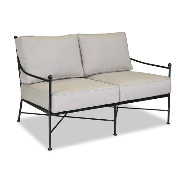 Sunset west provence loveseat with cushion