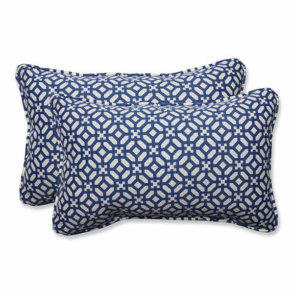 Pillow perfect in the frame indoor outdoor lumbar pillow