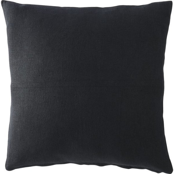 Linon black 20 pillow