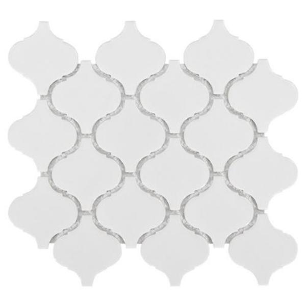 100053248 arabesque lantern white porcelain mosaic main