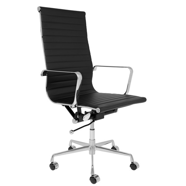 Soho eames replica tall back office management chair black