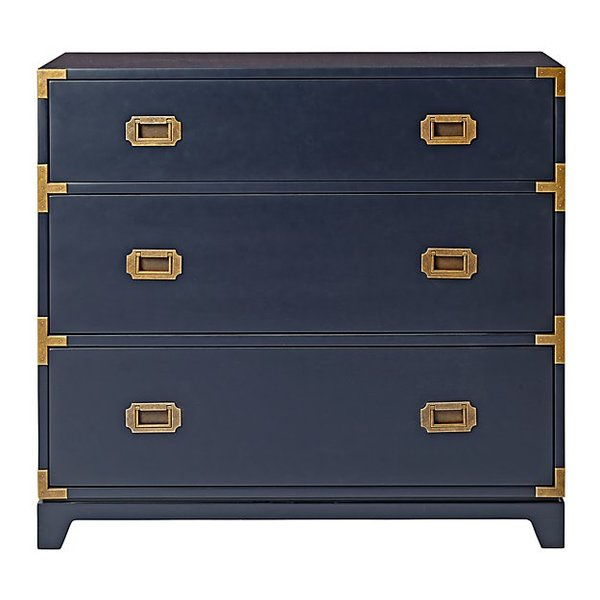 Campaign dresser midnight blue
