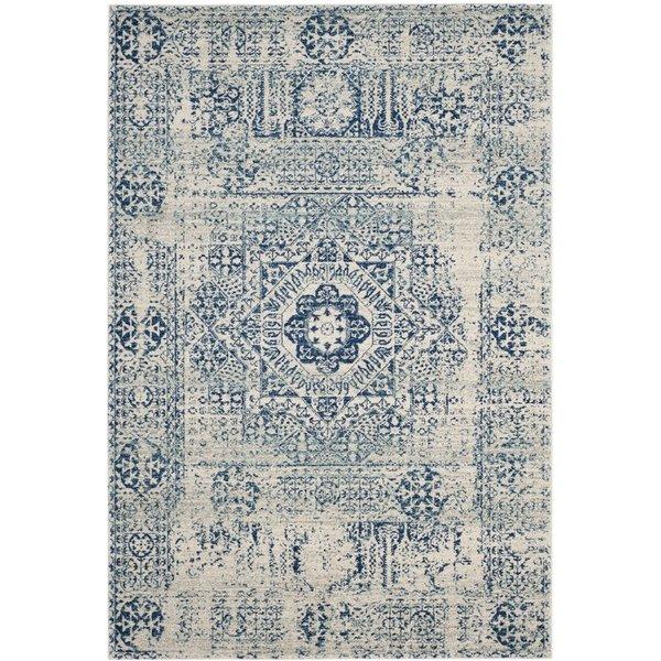 Ameesha blue area rug