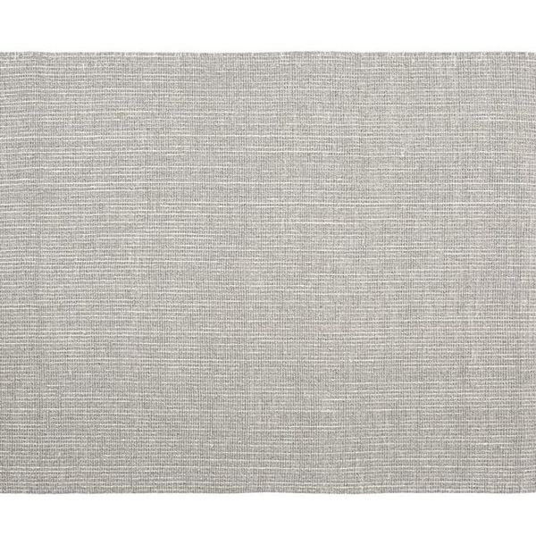 Chunky wool and jute rug gray ivory o