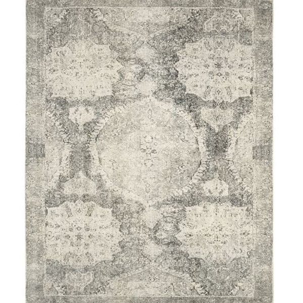Barret printed rug gray c6