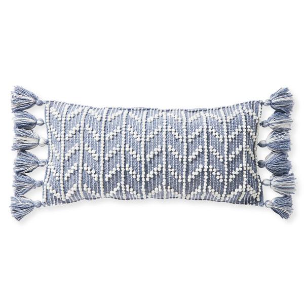 Dec pillow west beach 14x30 heathered coastal blue front mv 0050 crop sh