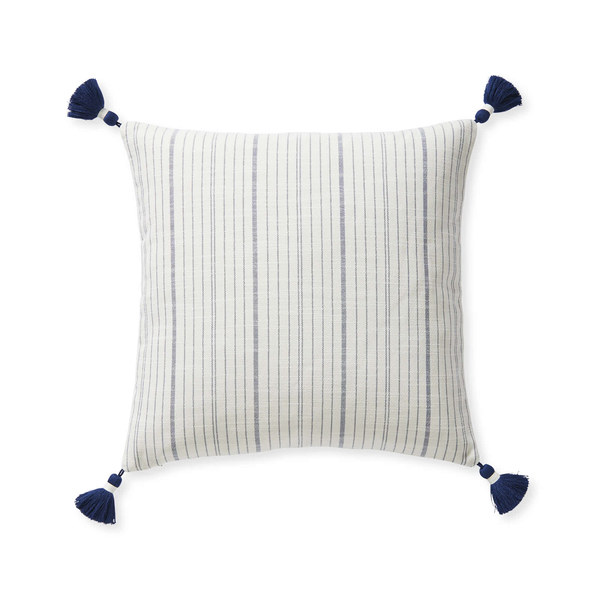 Dec pillow surf stripe 20x20 navy mv 0397 crop sh