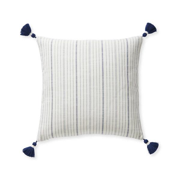 Dec pillow surf stripe 20x20 navy mv 0397 crop sh