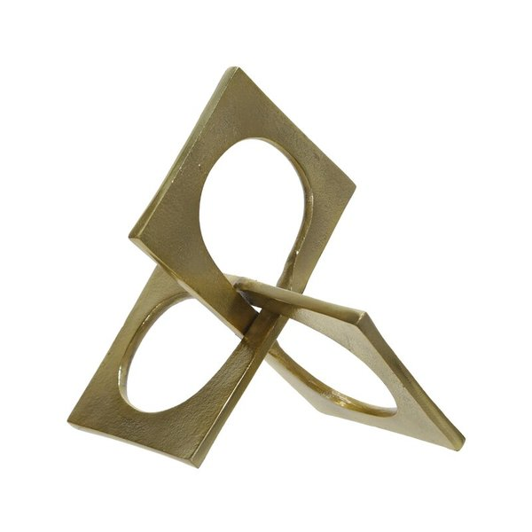 Redegonda linked square decor sculpture