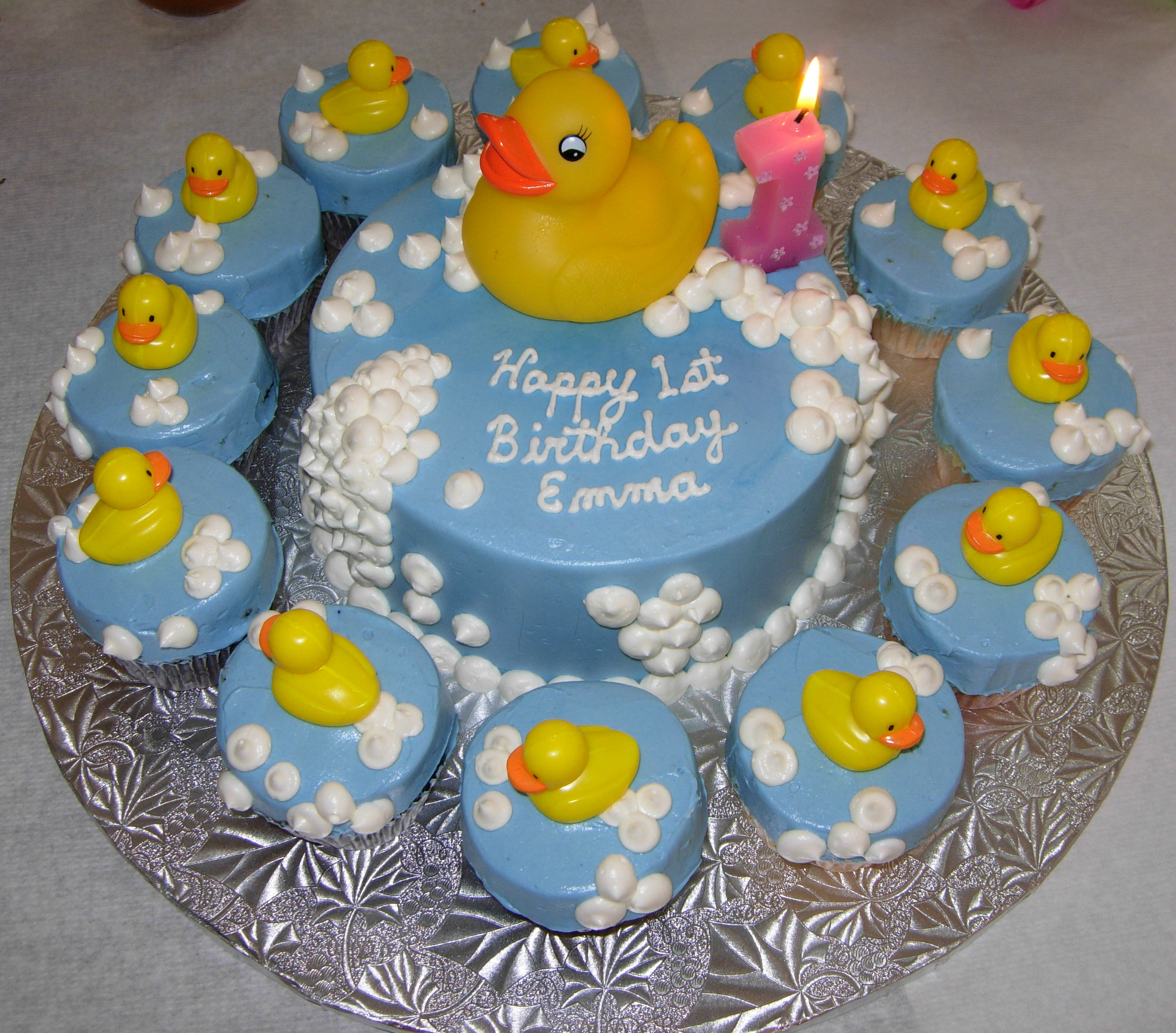 Rubber Ducky St Birthday Cakes
