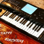 Keyboard - Sweet Cheeks Custom Cake